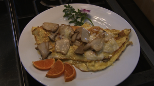 Mushroom Omellete (2)